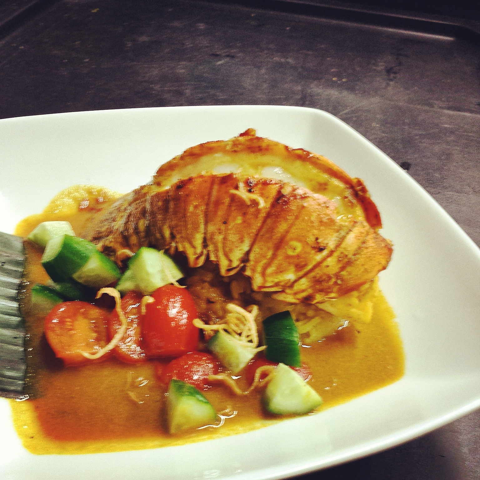 Lobster Kunyit