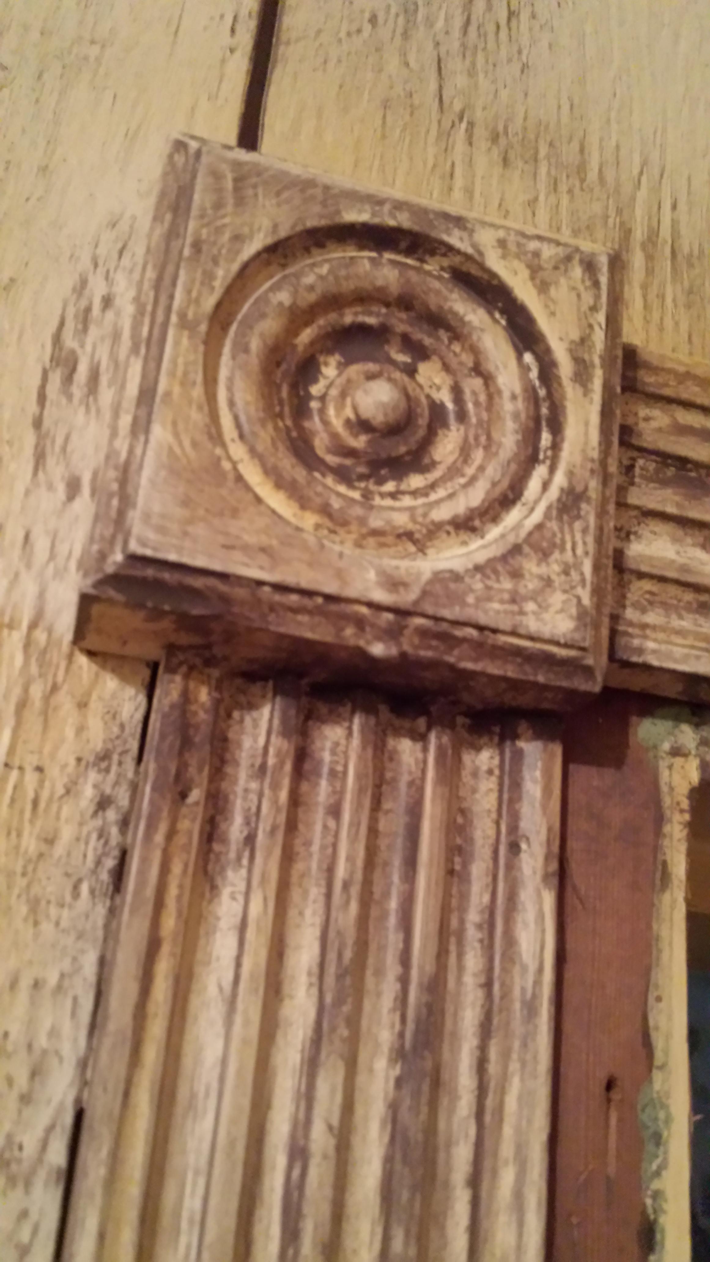 Detail of door frame. (Evil Acres 2015)