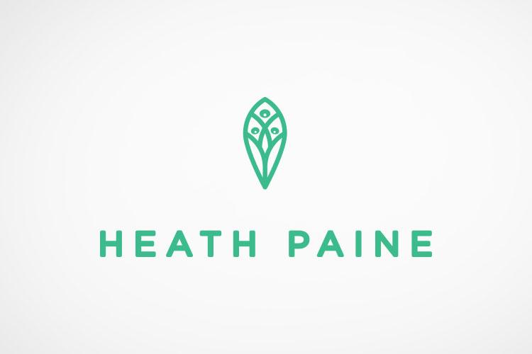 Heath Paine  brand identity