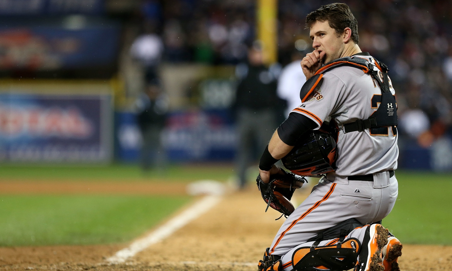 Buster Posey (Y-D '06-'07), San Francisco Giants. Photo by KQED, 2012.