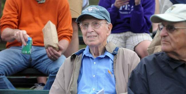 Arnold Mycock, Photo from the  Cape Cod Times  (Jul 8, 2012)