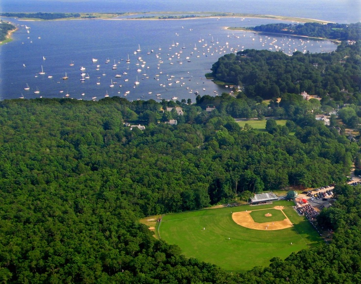 Lowell Park in Cotuit, MA; Home of the Cotuit Kettleers