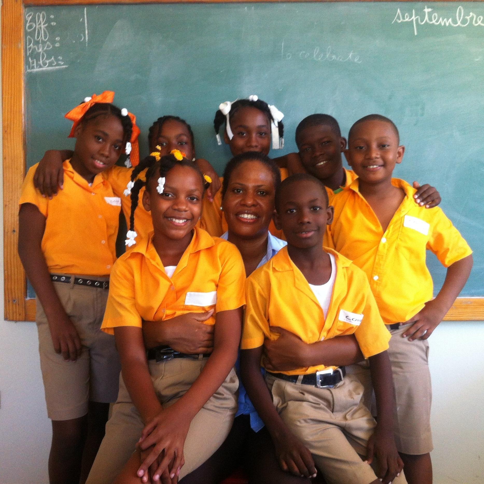 Dominique Pierre   Partnership Coordinator,  Children of Haiti Project