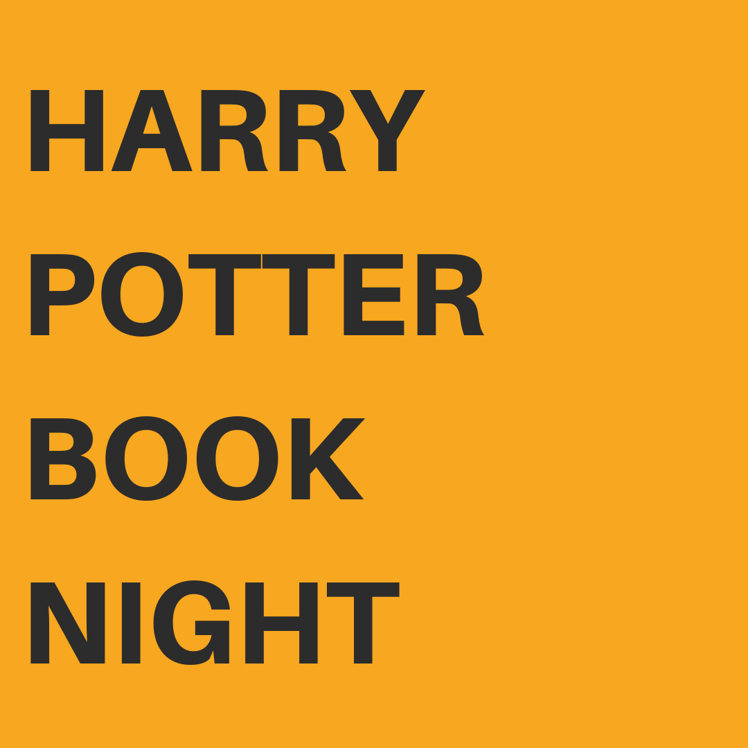 Keep the WRAD momentum going by celebrating  Harry Potter Book Night  on Thursday February 7th, when fans around the world celebrate the much-loved books by J.K. Rowling.    MORE INFORMATION HERE