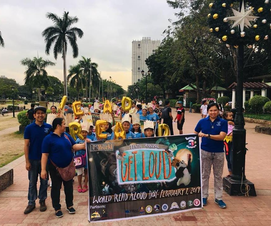 Project PEARLS led and organized this march in Manila on World Read Aloud Day 2019.