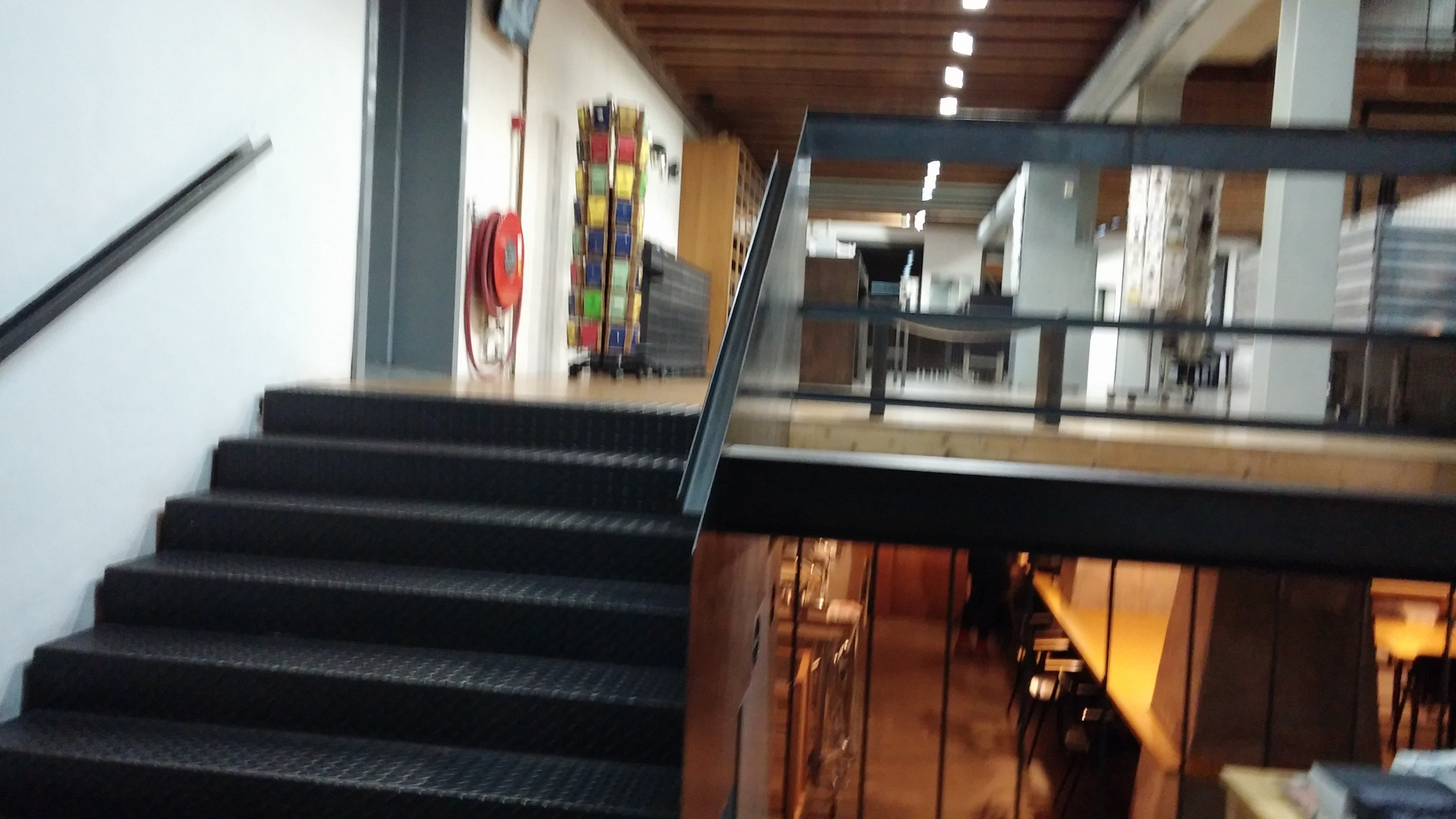 Ground floor and basement of Galerie Marzee (Sorry it's blurry)