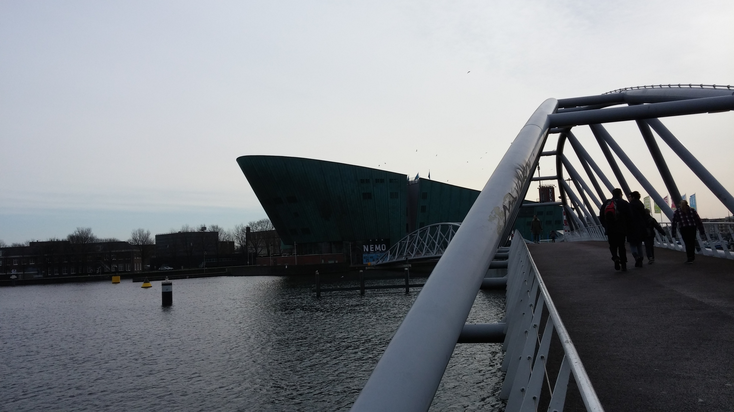 NEMO science museum. It looks like a ship.