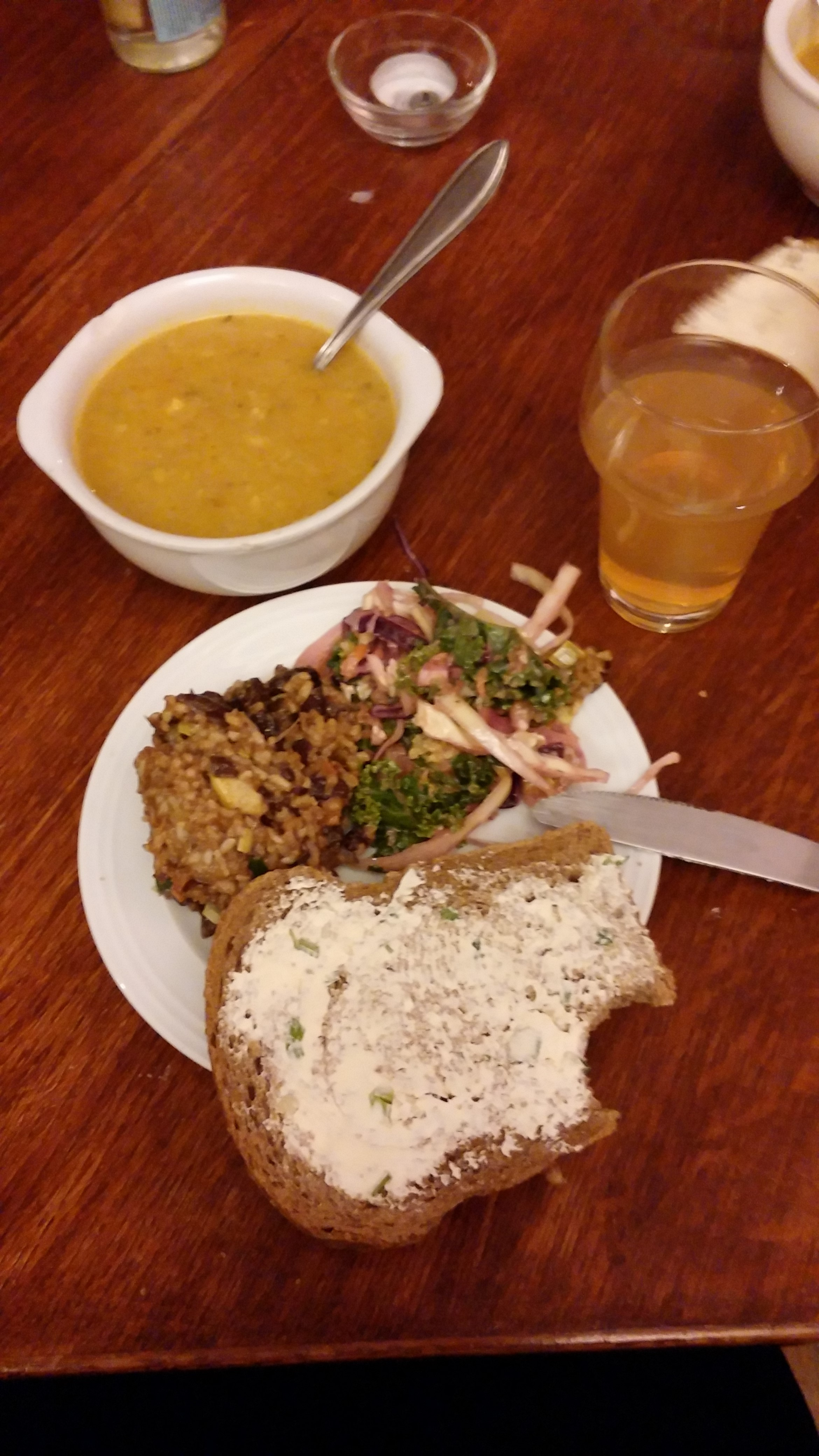 Soep, and other delicious (healthy, vegan) food.