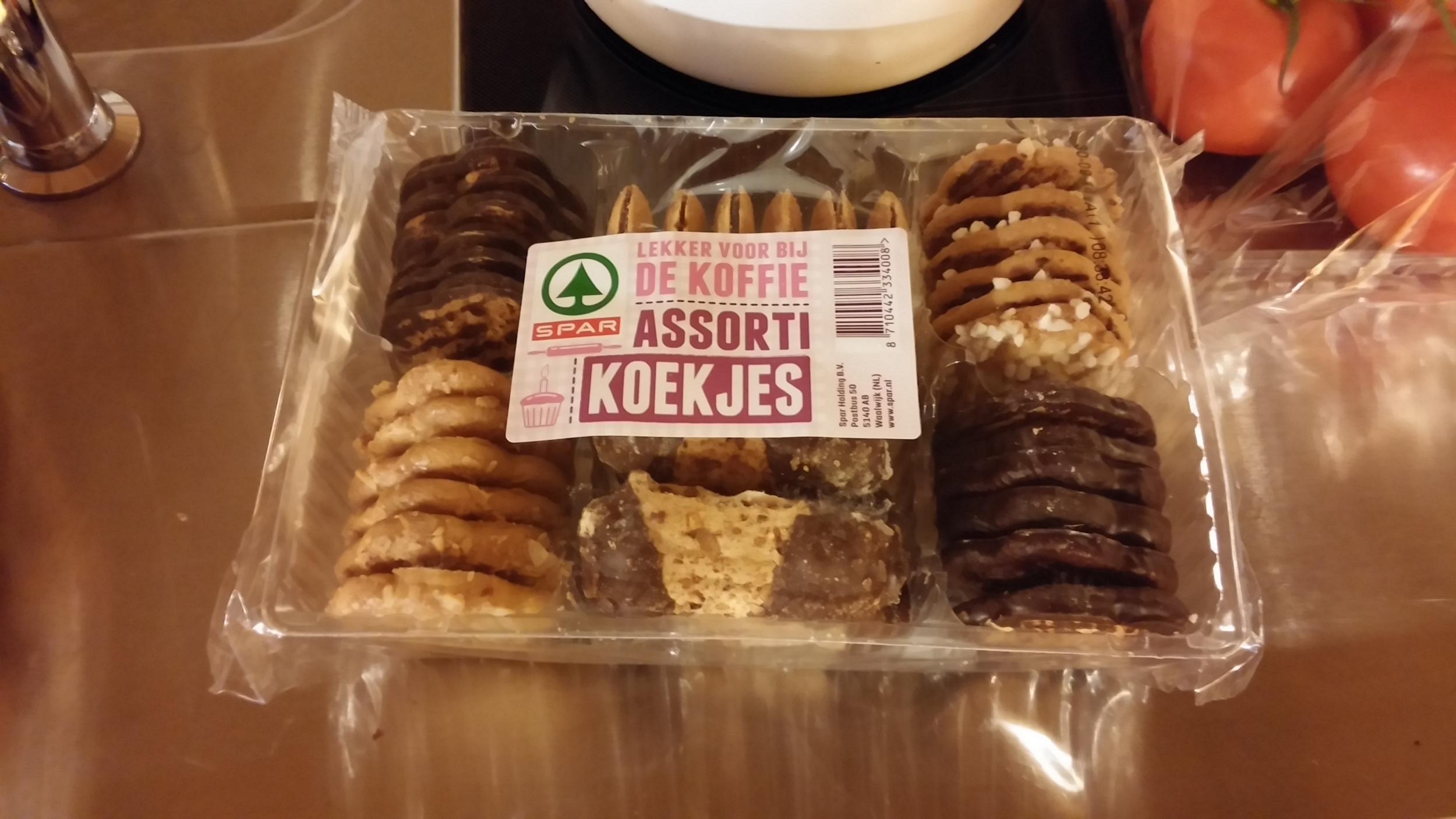 The last box of cookies.