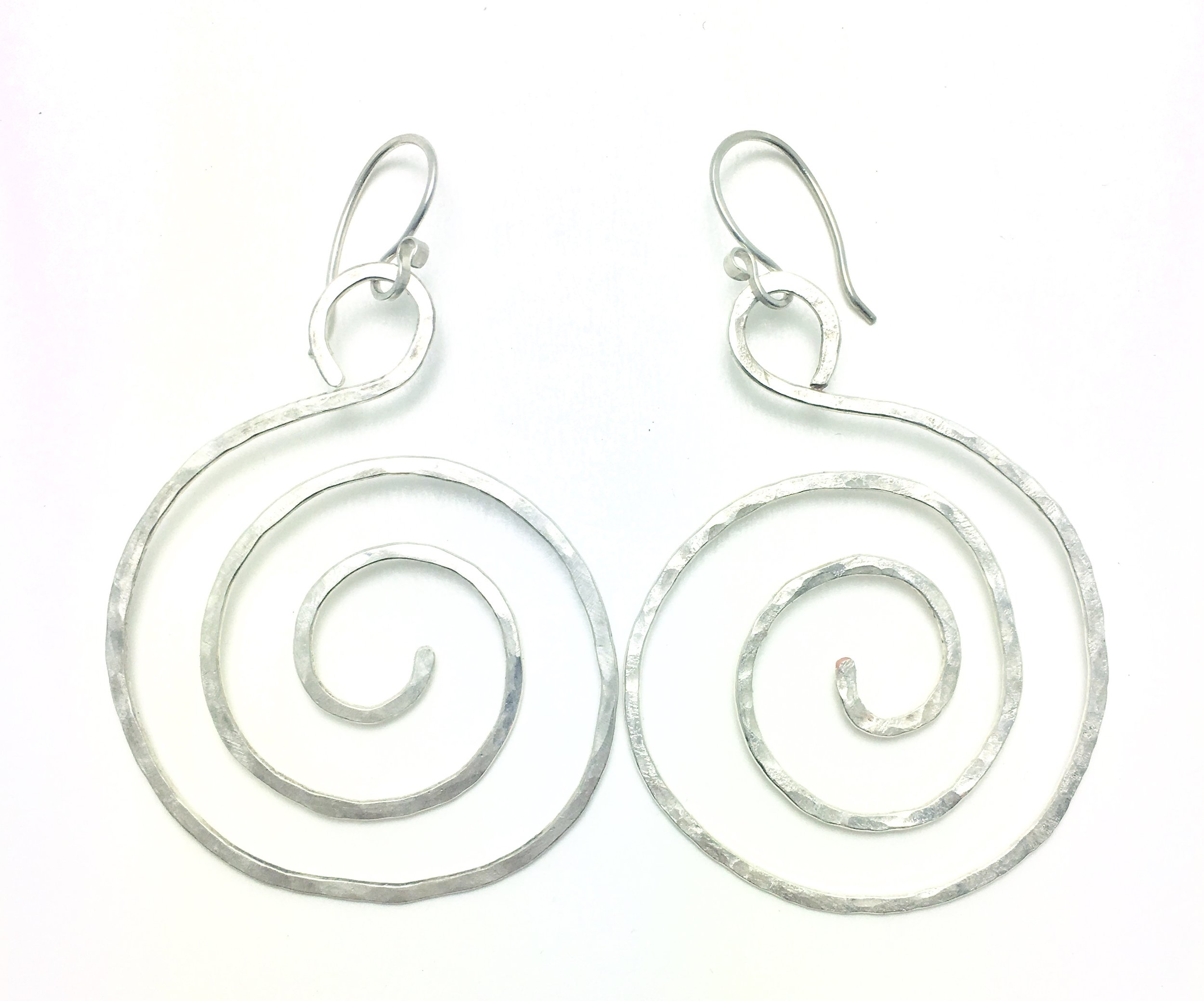 Sterling Silver earring (one had been lost so I recreated it)