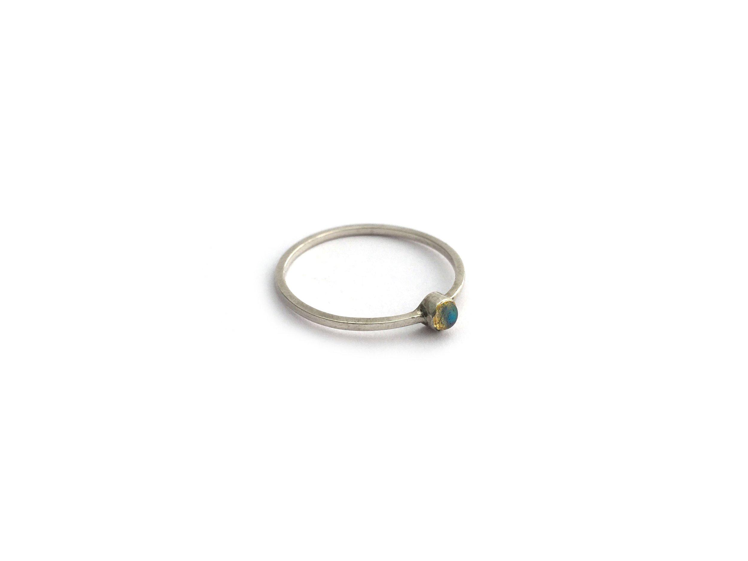 Electron Ring Silver