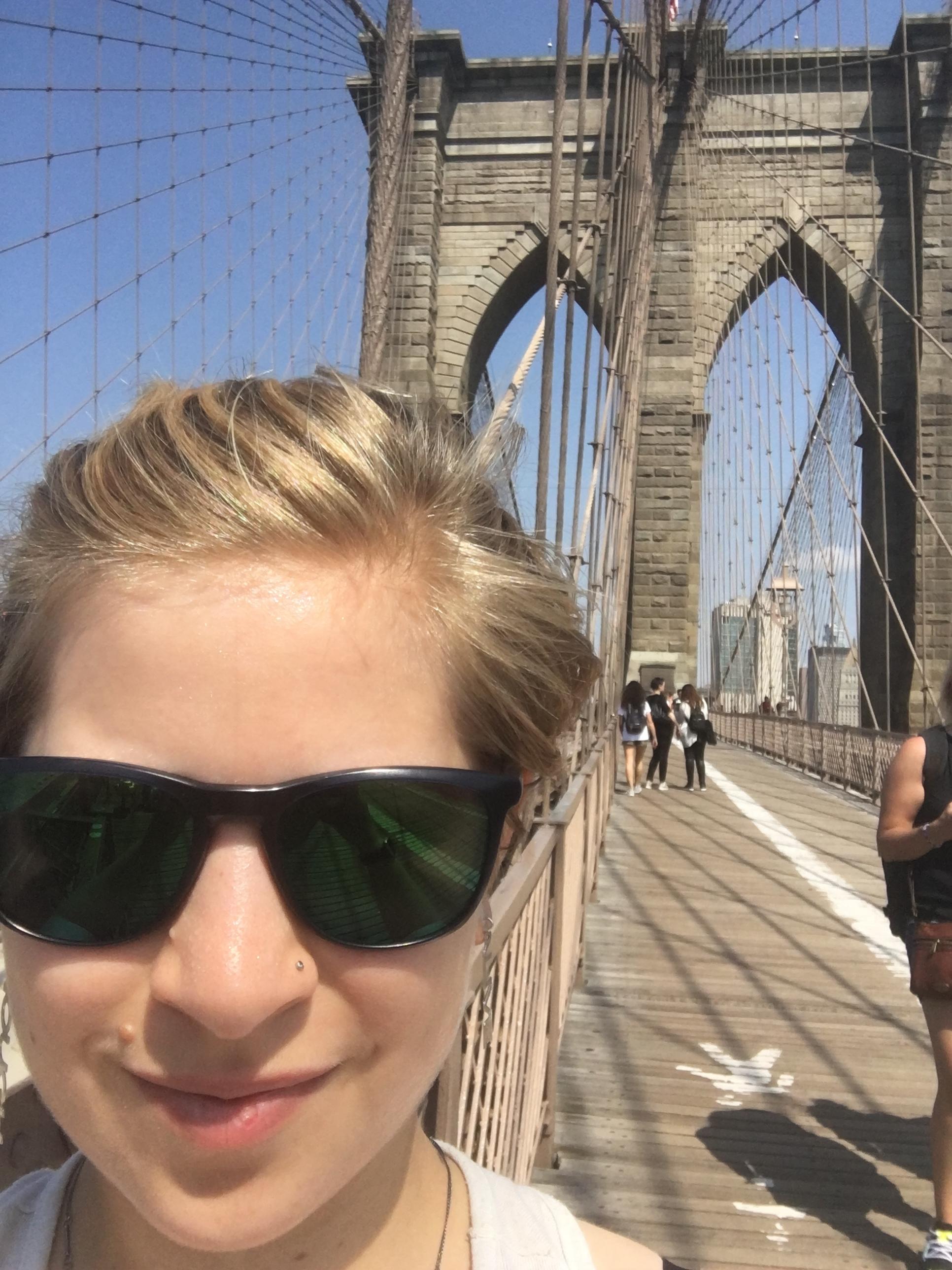 Oh look! It's the Brooklyn Bridge