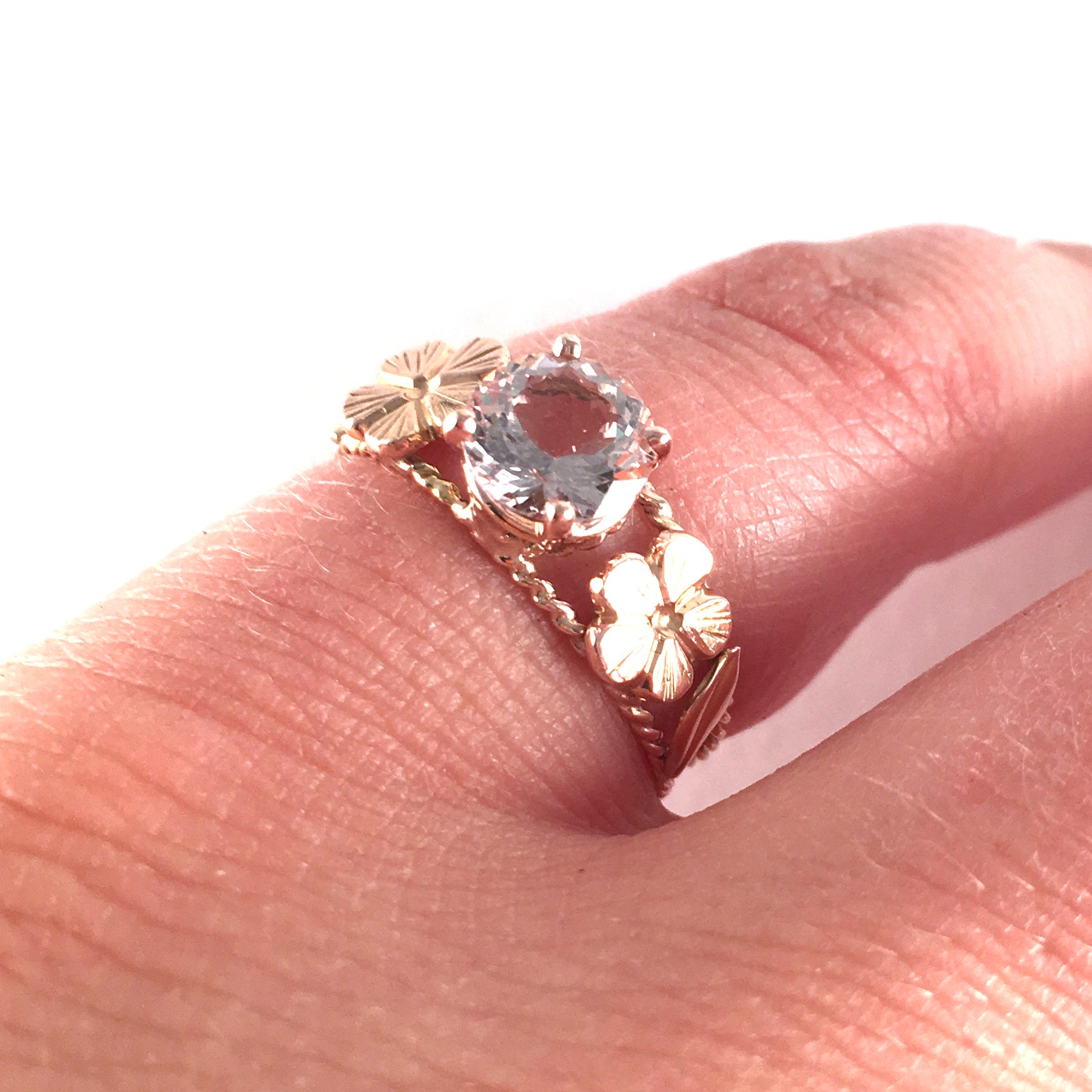 """Thank you Nina! This was the perfect ring for me. You did a beautiful job, and Adam said you saved the day by getting it done in a rush. It means the world."" - Sidney P."