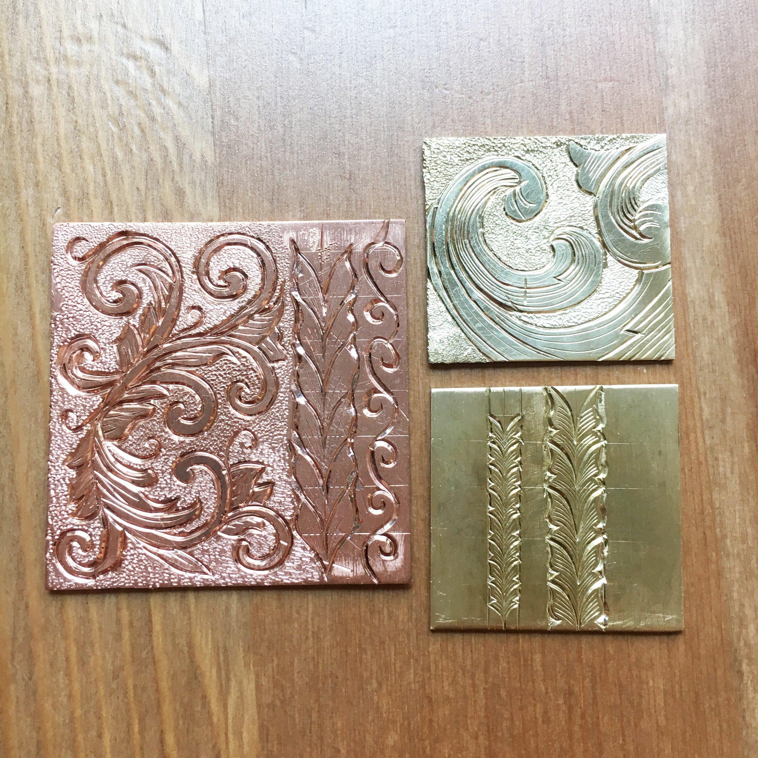 Engraving practice