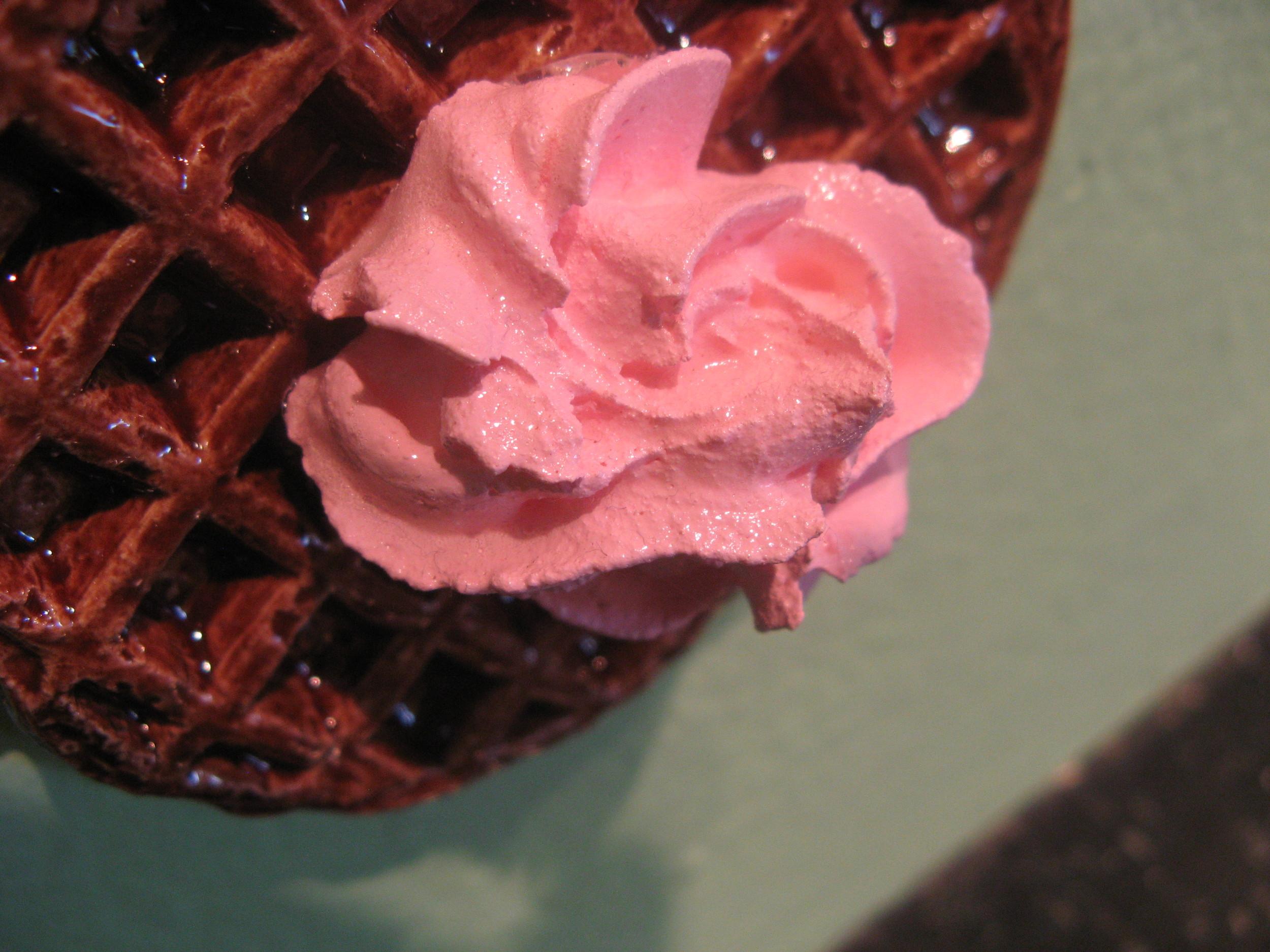 ceramic casts of waffles,glaze,spakle dollups,paint,hot glue (6).jpg