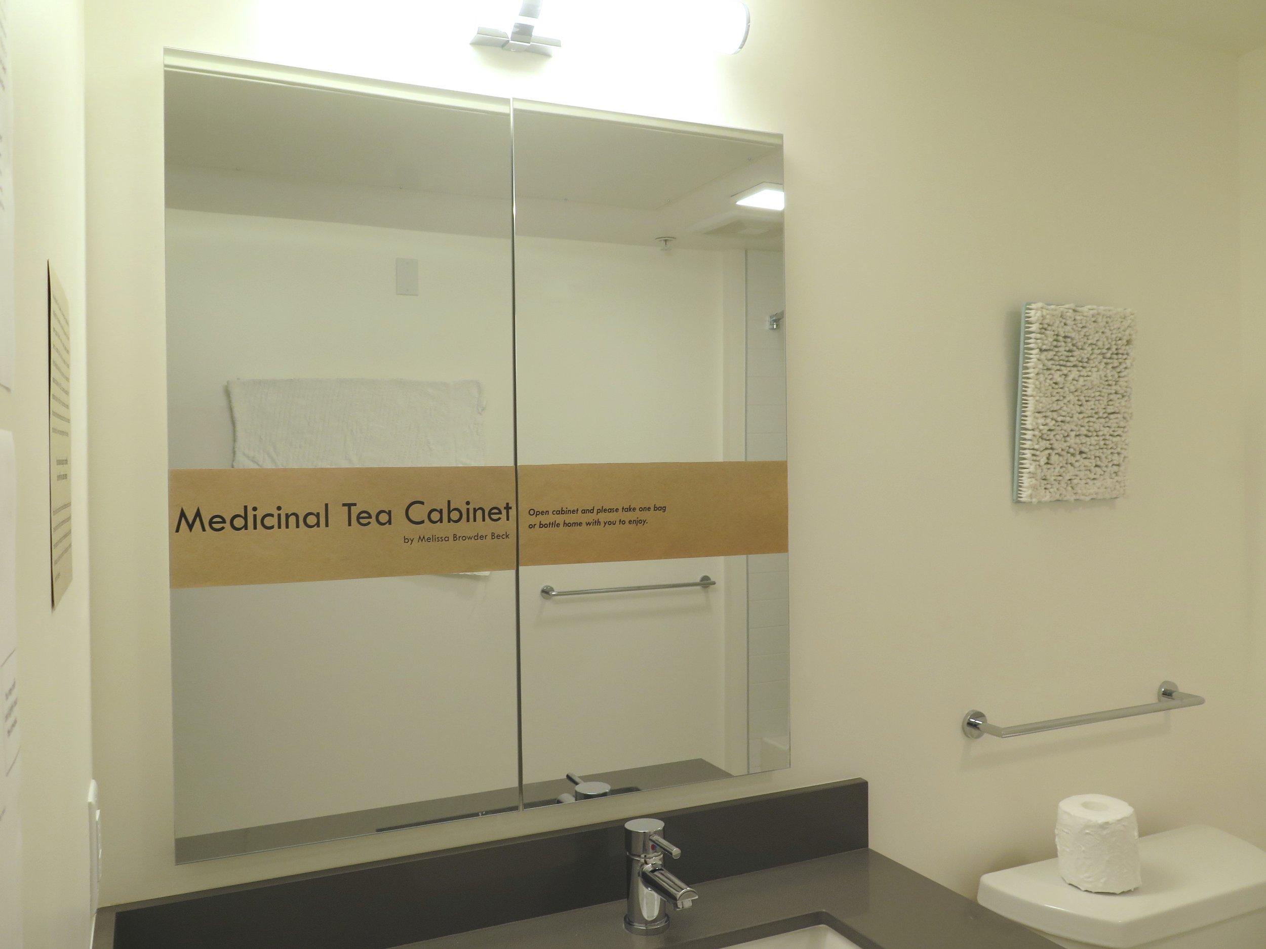 Medicinal Tea Cabinet