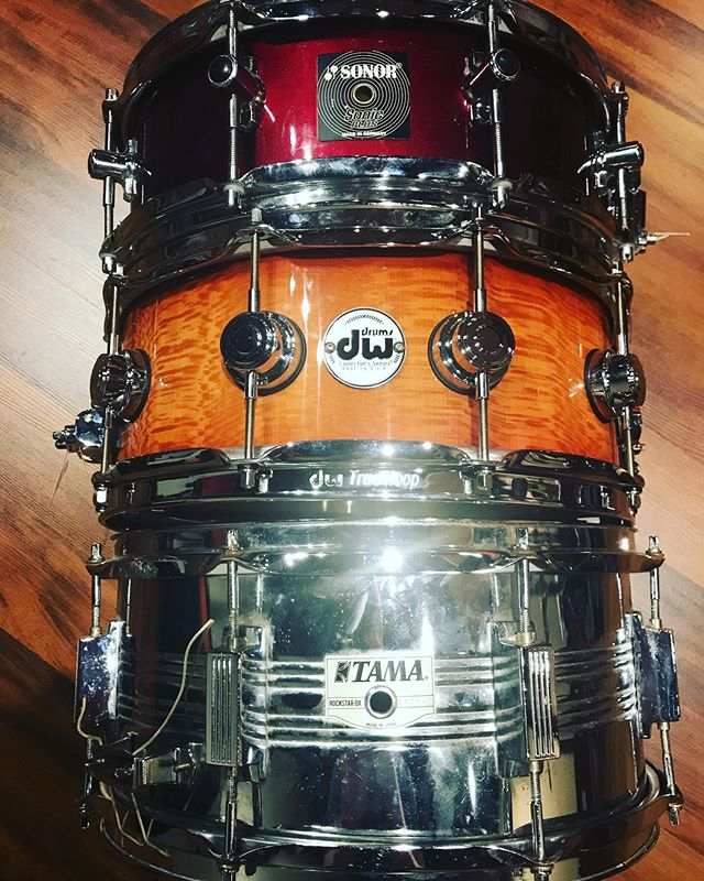We now have 3 snares in-house that are ready to rock.