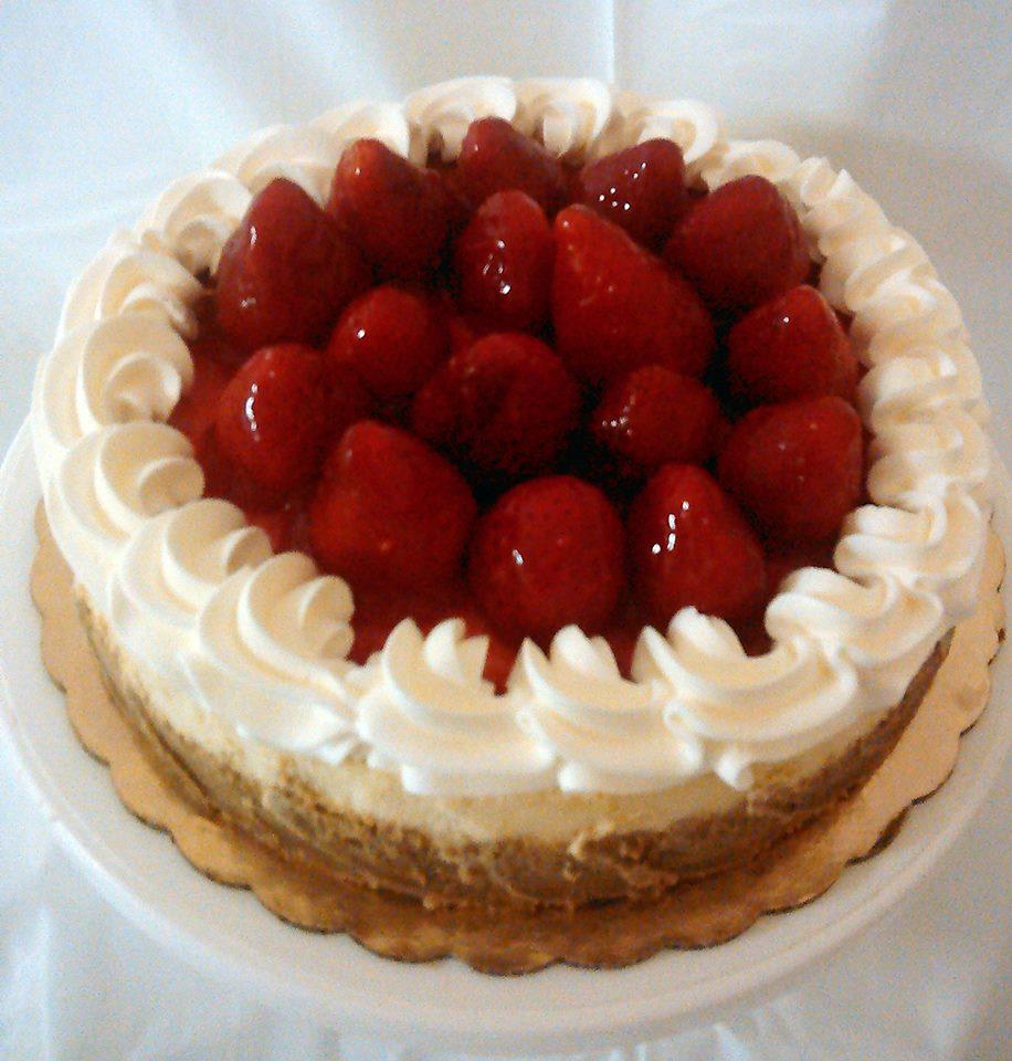 Seasonal Strawberry Cheesecake