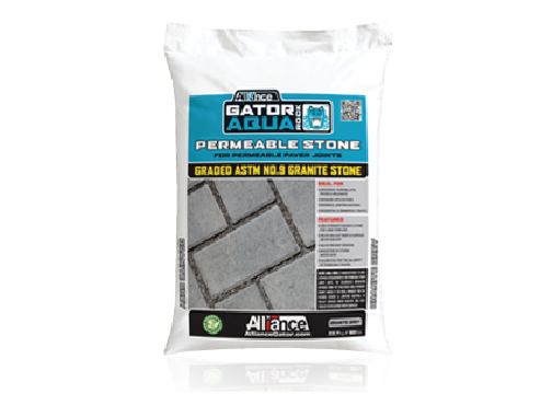 Aqua rock permeable joint stone
