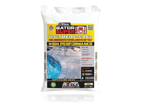 High performance polymeric sand