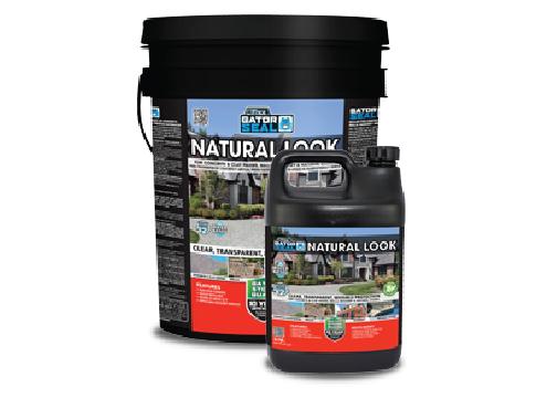 Natural look oil-based sealer