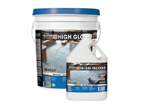High gloss water-based sealer