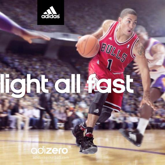 Adidas + Derrick Rose