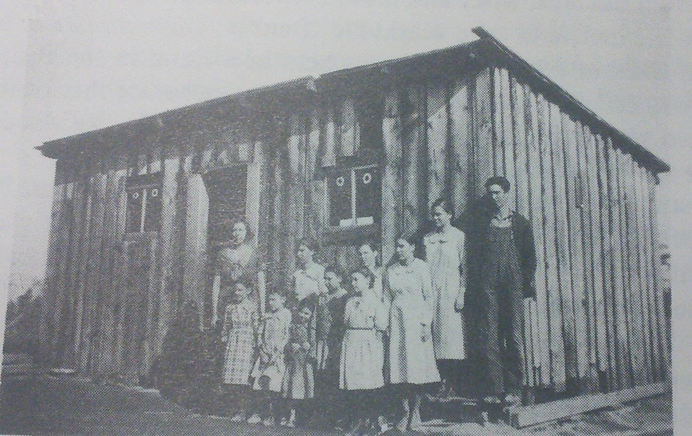 Pres Beaty School 1933