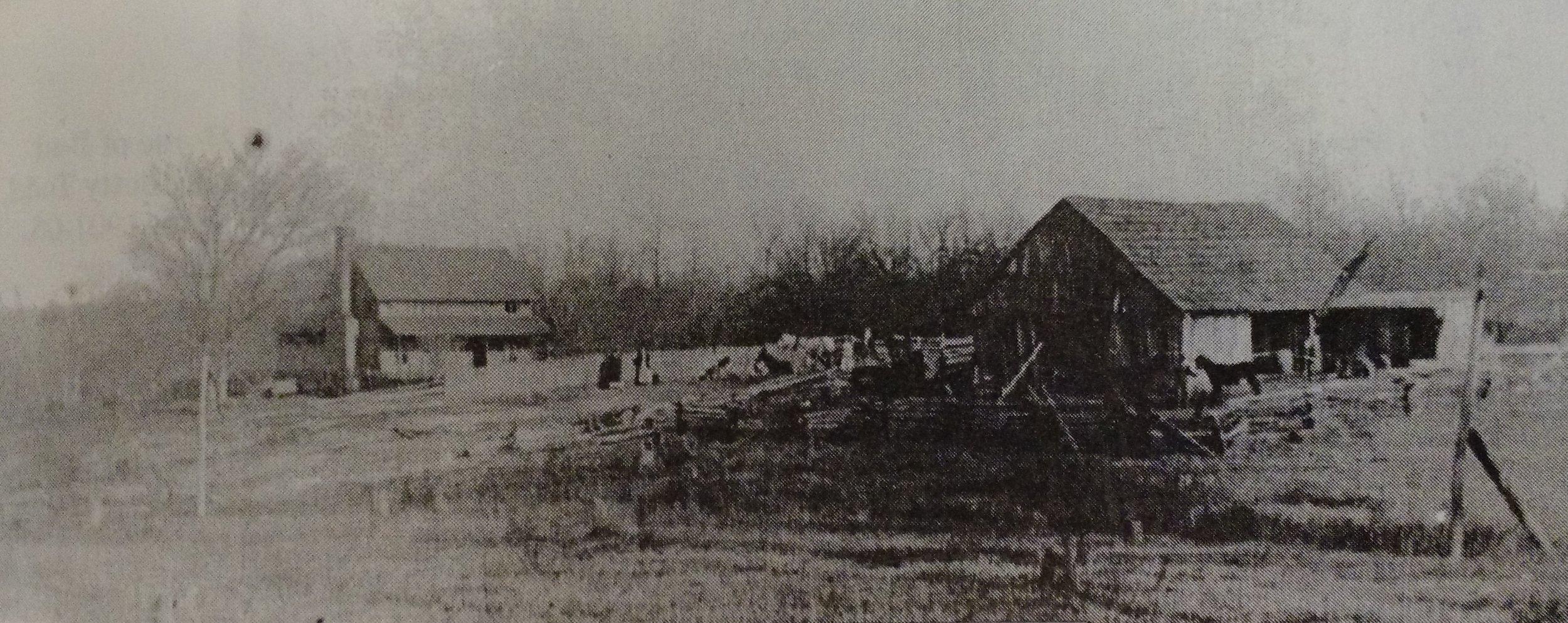 Fully fenced farmstead