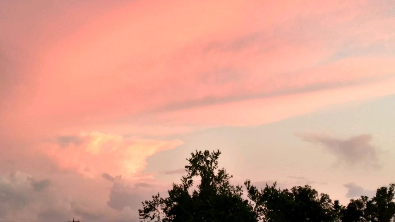 Clarkrange Sunset - Photo by Derek Lane