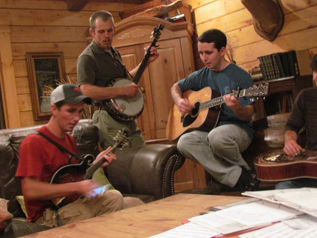 Bluegrass Jamming with Friends