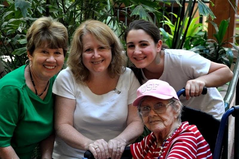 4 Generations - My Grandmother's 94th Birthday