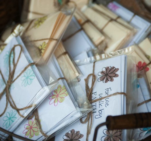 Beth Anne's Hand Stamped Stationery