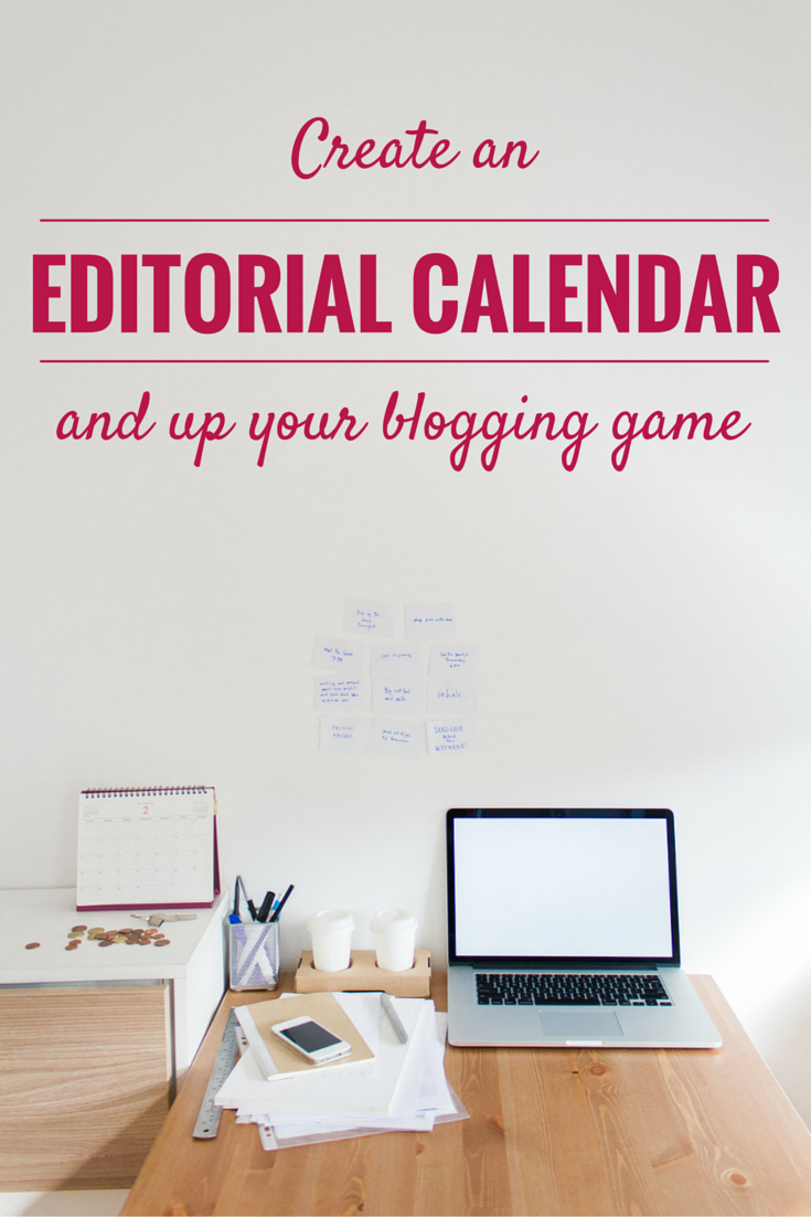 Editorial Calendar title