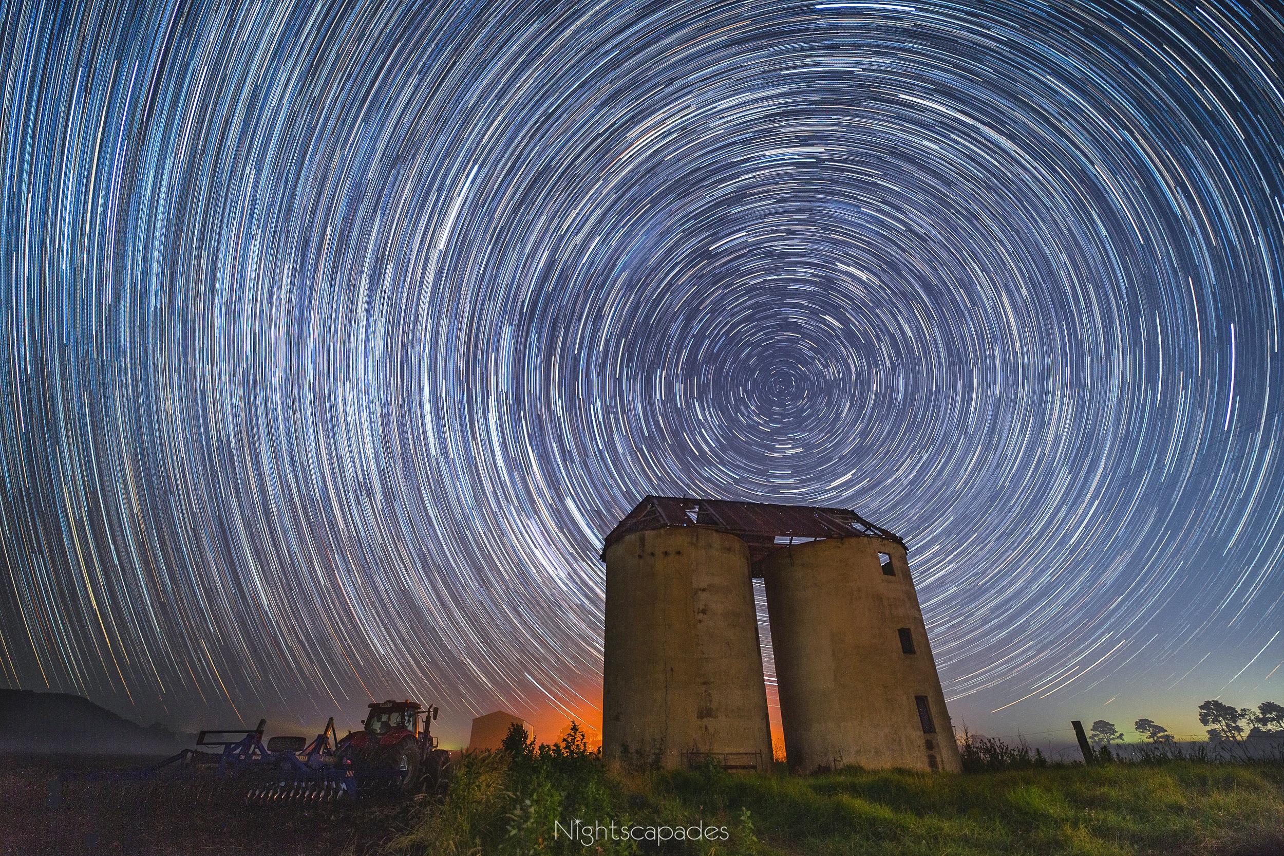 Spinning silos