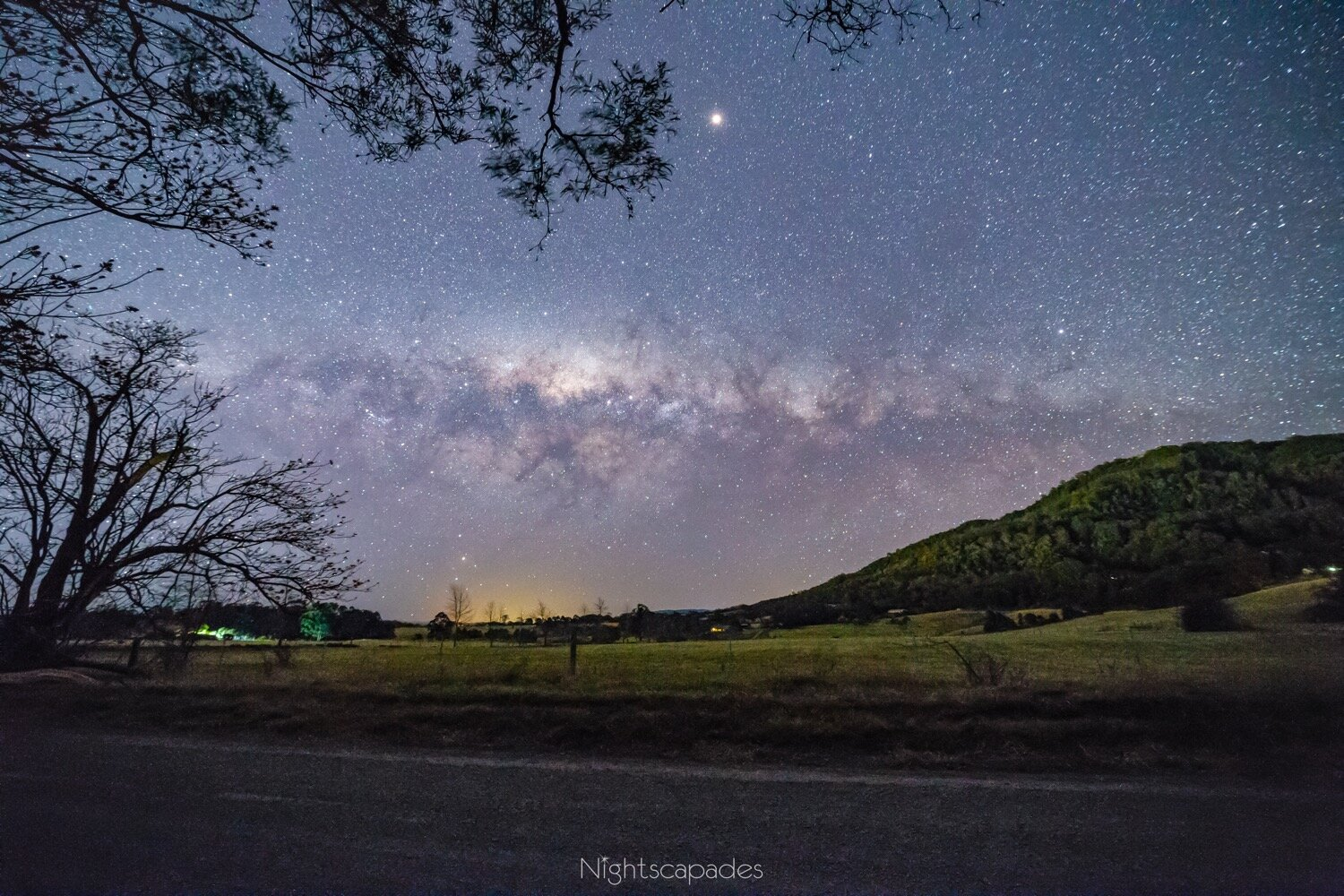 Mt Cambewarra & the Milky Way