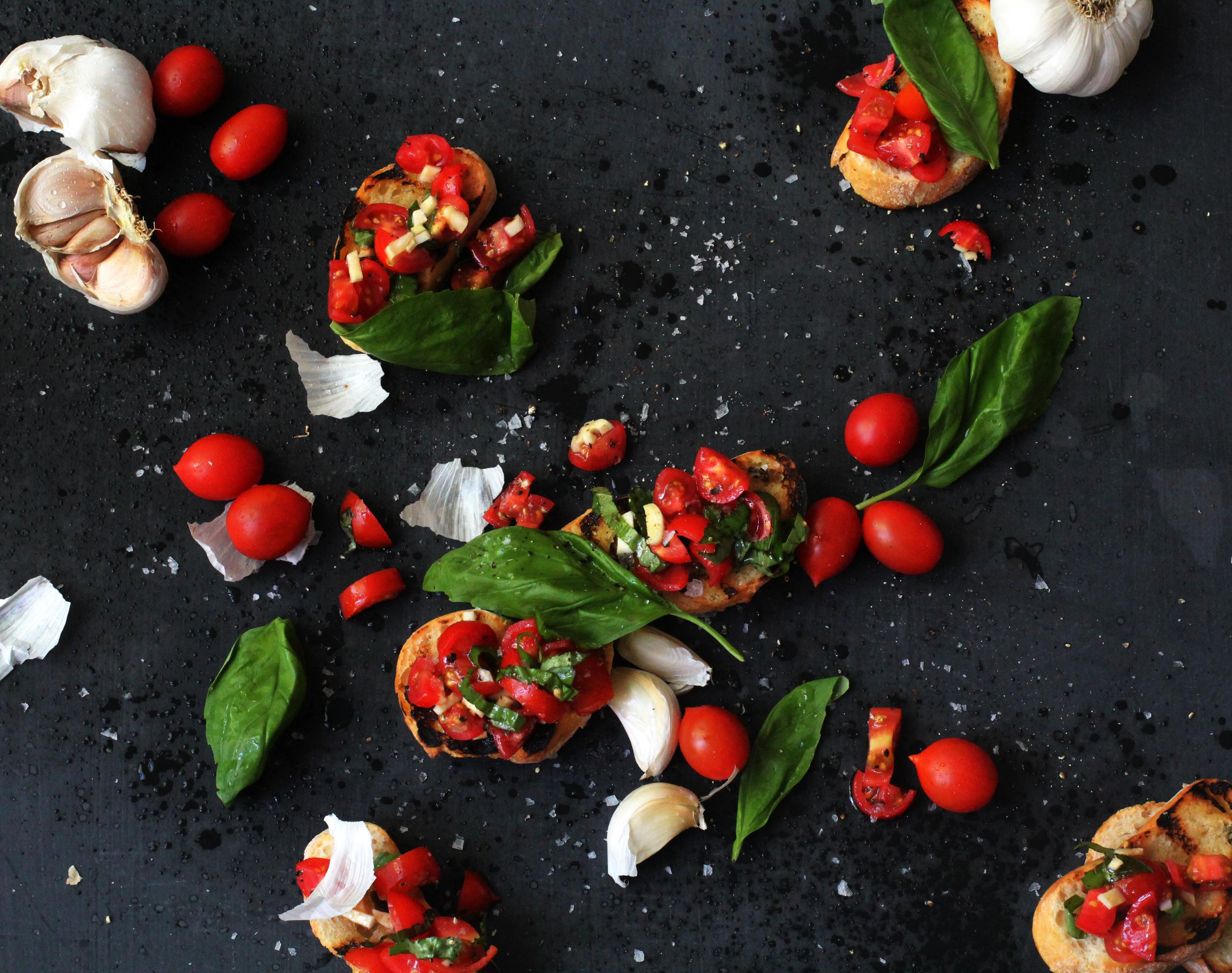 tomatobruschetta