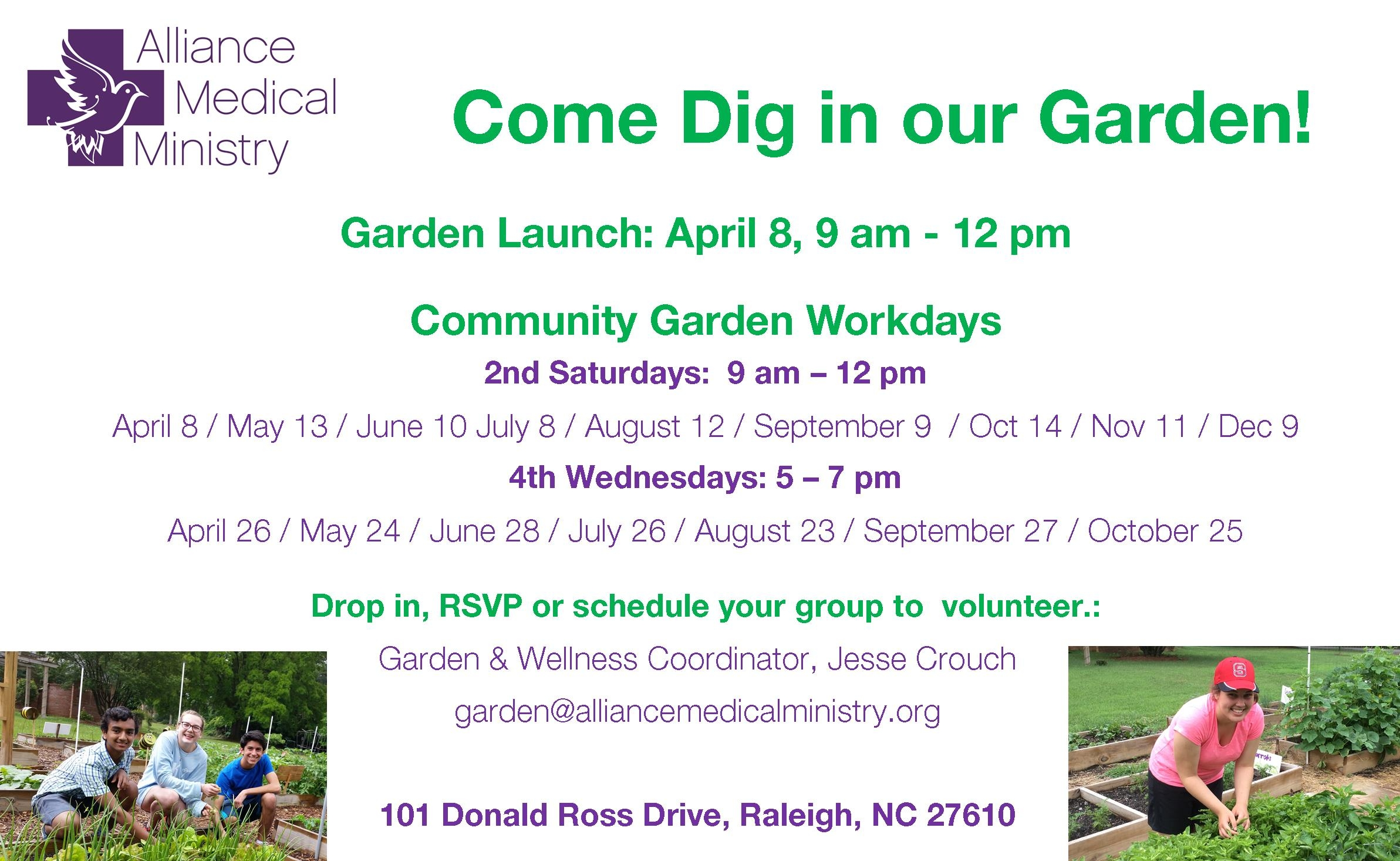 Garden Workday Calendar