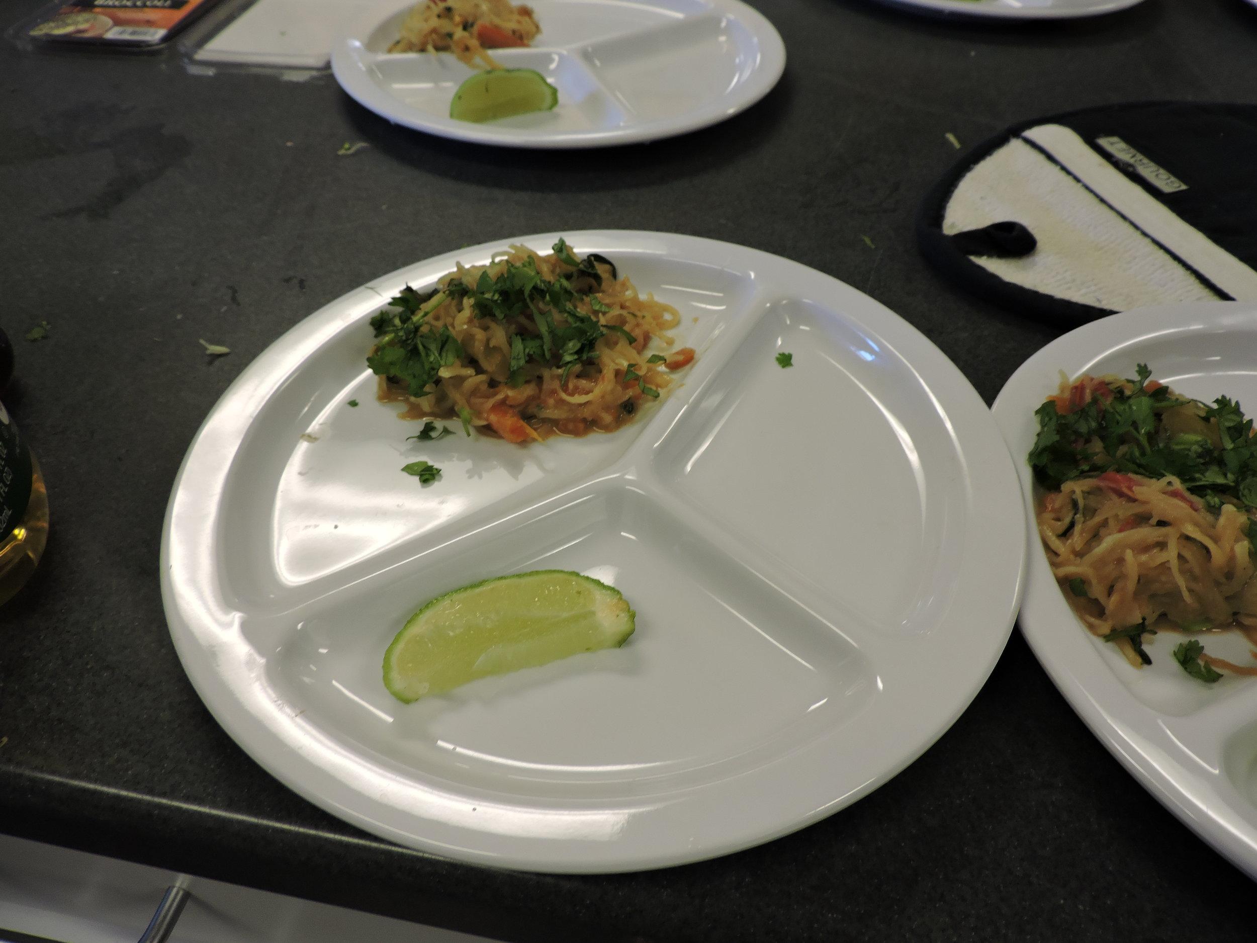 Thai Noodle Salad -