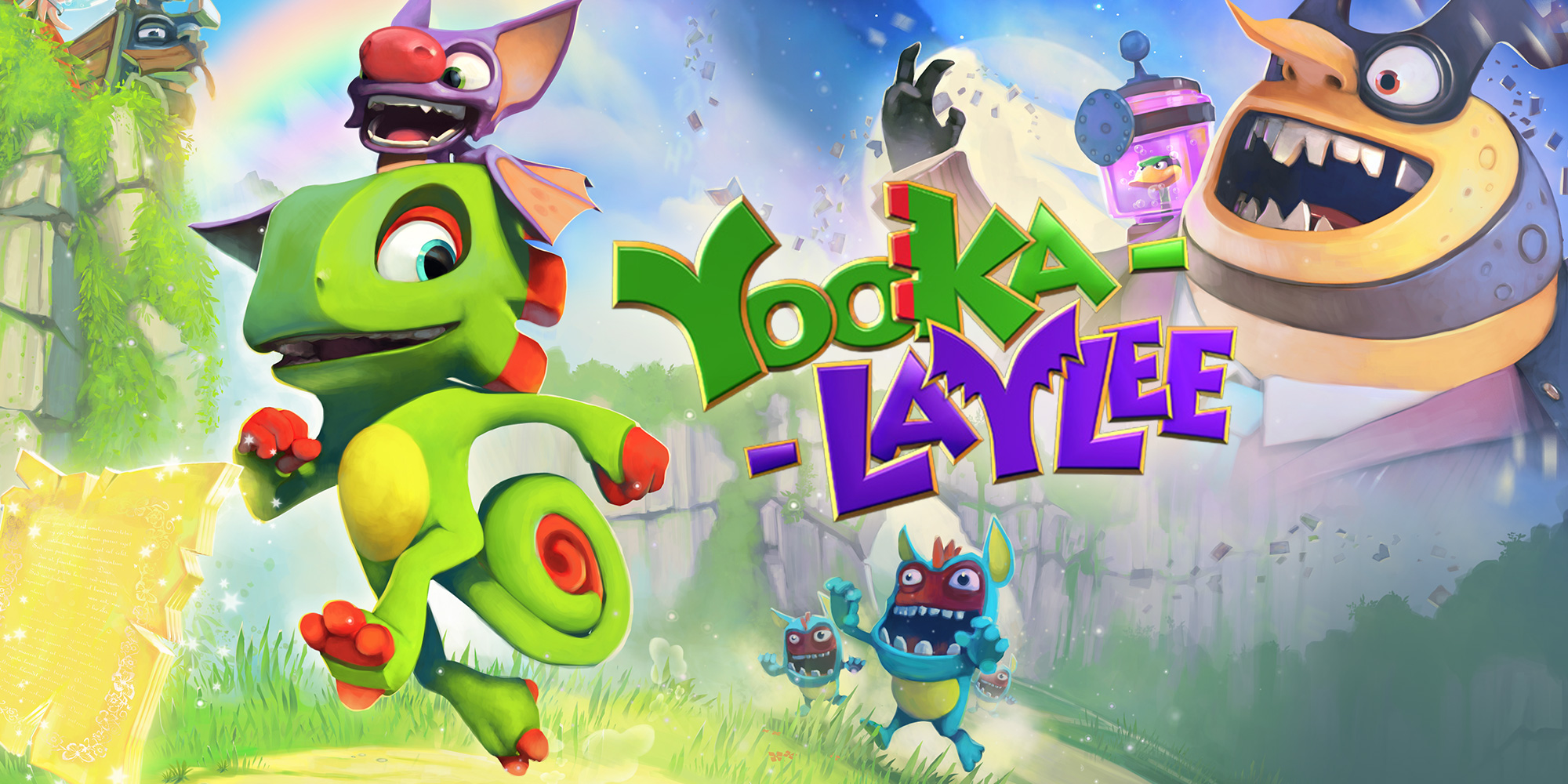 Yooka-Laylee - User interface, character controls development and character movement optimization