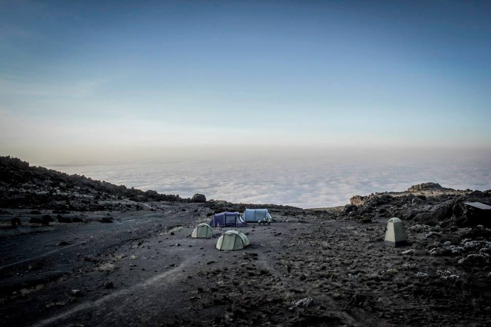 Camp, 16,000 Feet