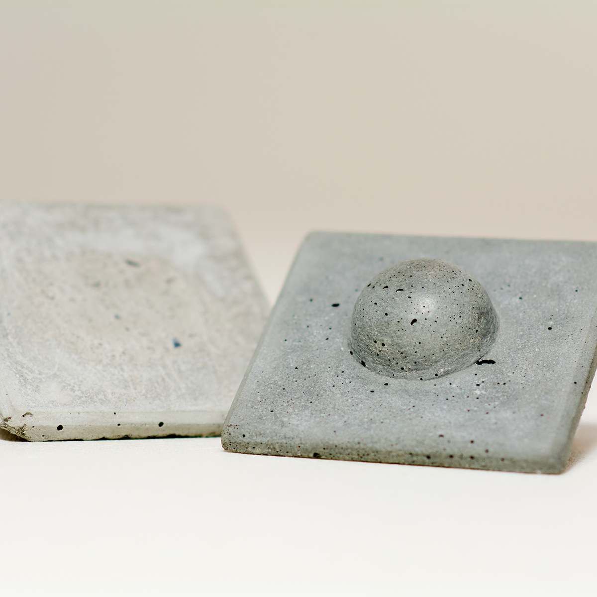 Concrete Braille Tile by Constructed Matter
