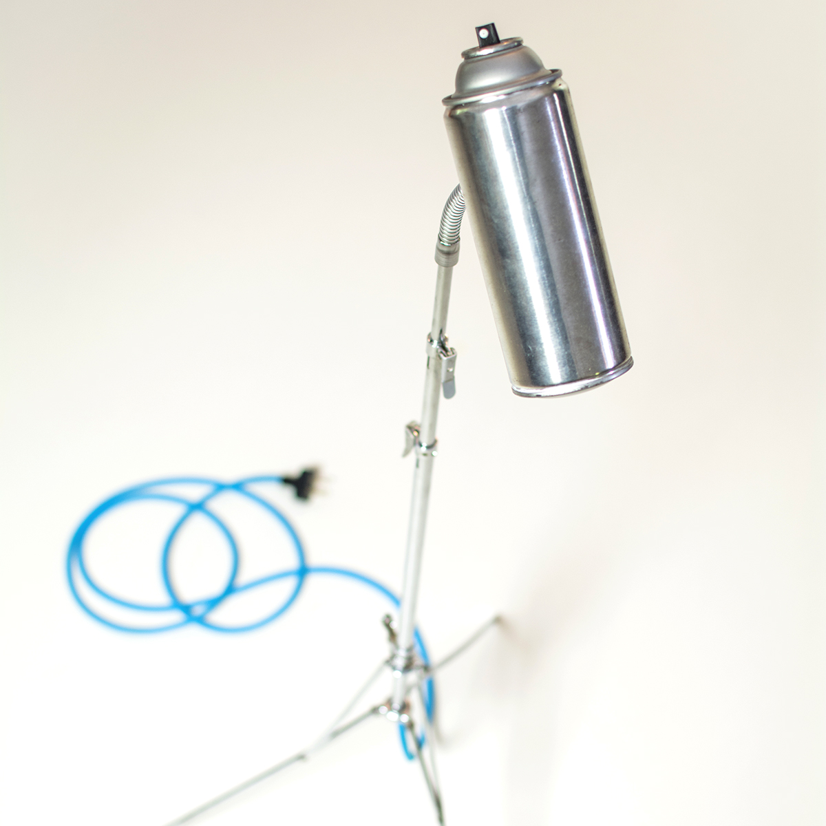 Spray Paint Can Lamp by Constructed Matter