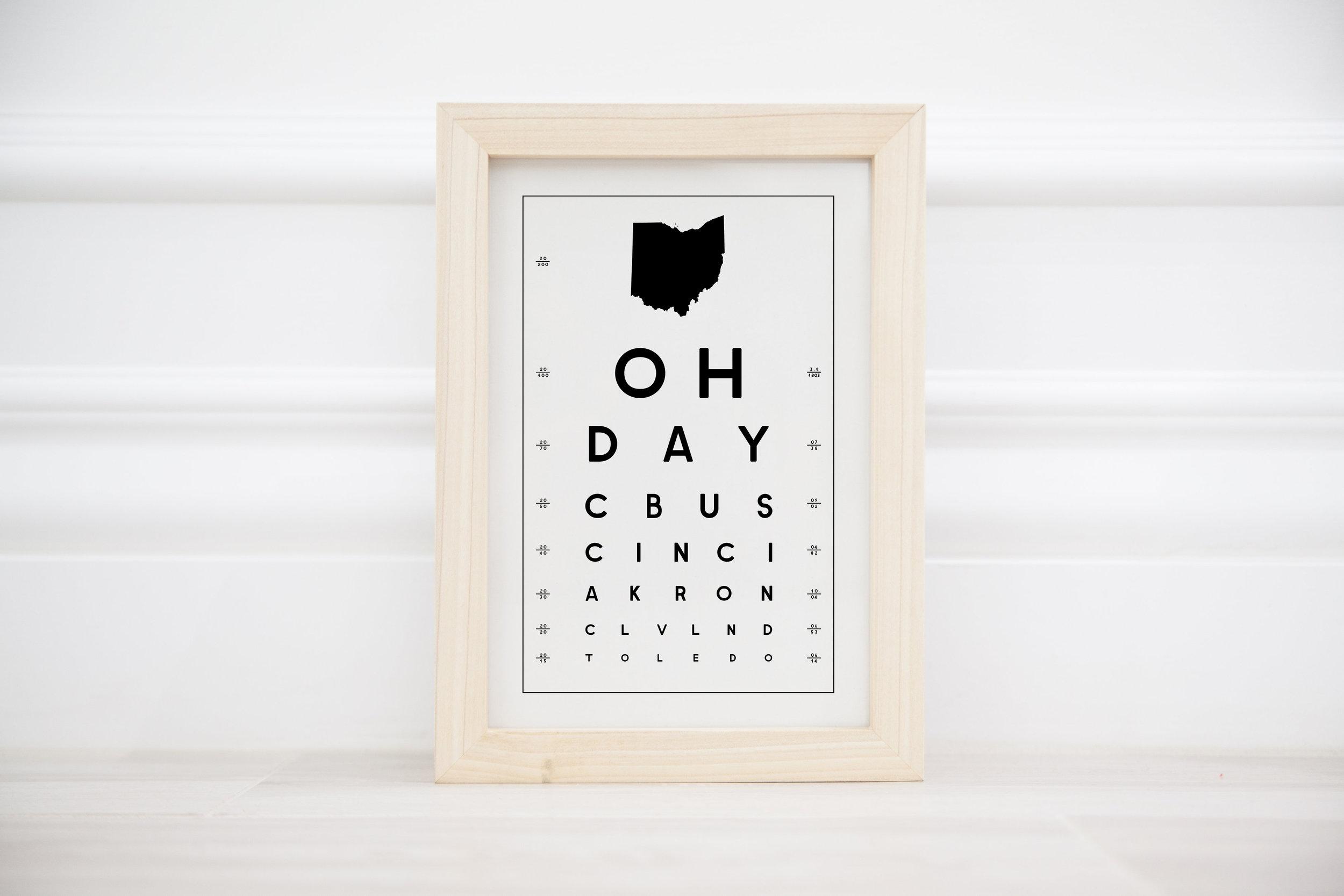 OH eye chart