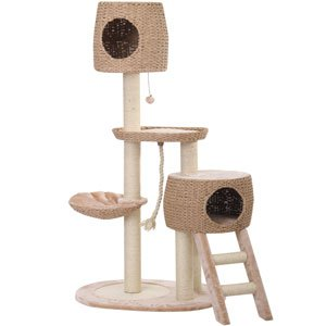 PetPals Recycled Paper Cat House with two condos.