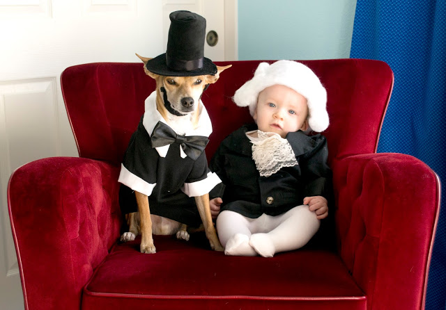Happy Presidents' Day to you Mr. Lincoln (Roldy) and Mr. Washington (Lincoln).