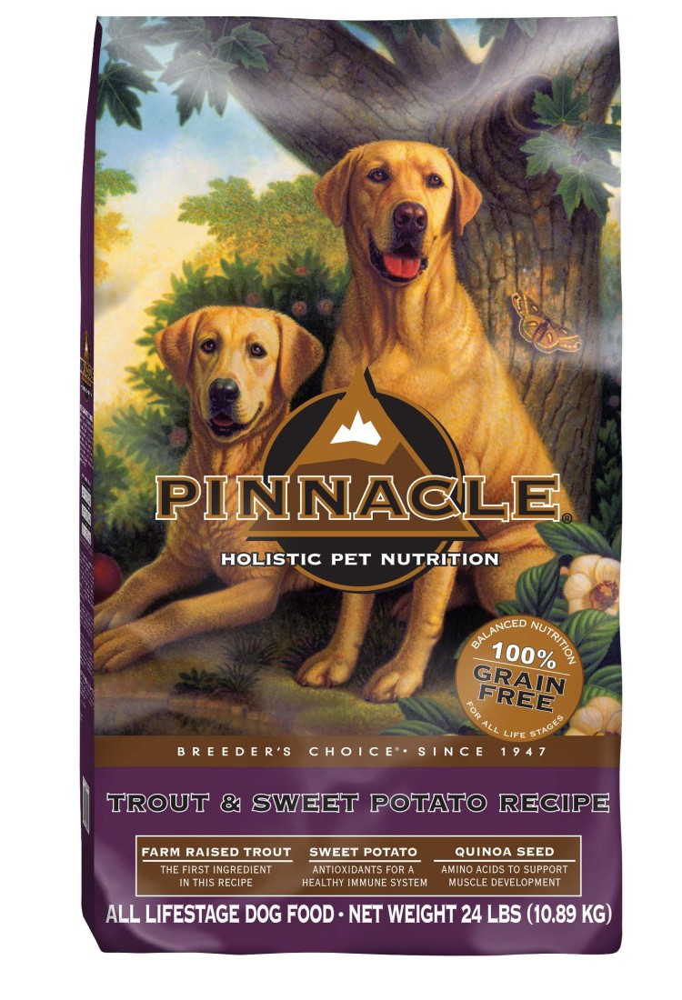 Pinnacle Pet Food is an excellent choice for holistic canine nutrition.