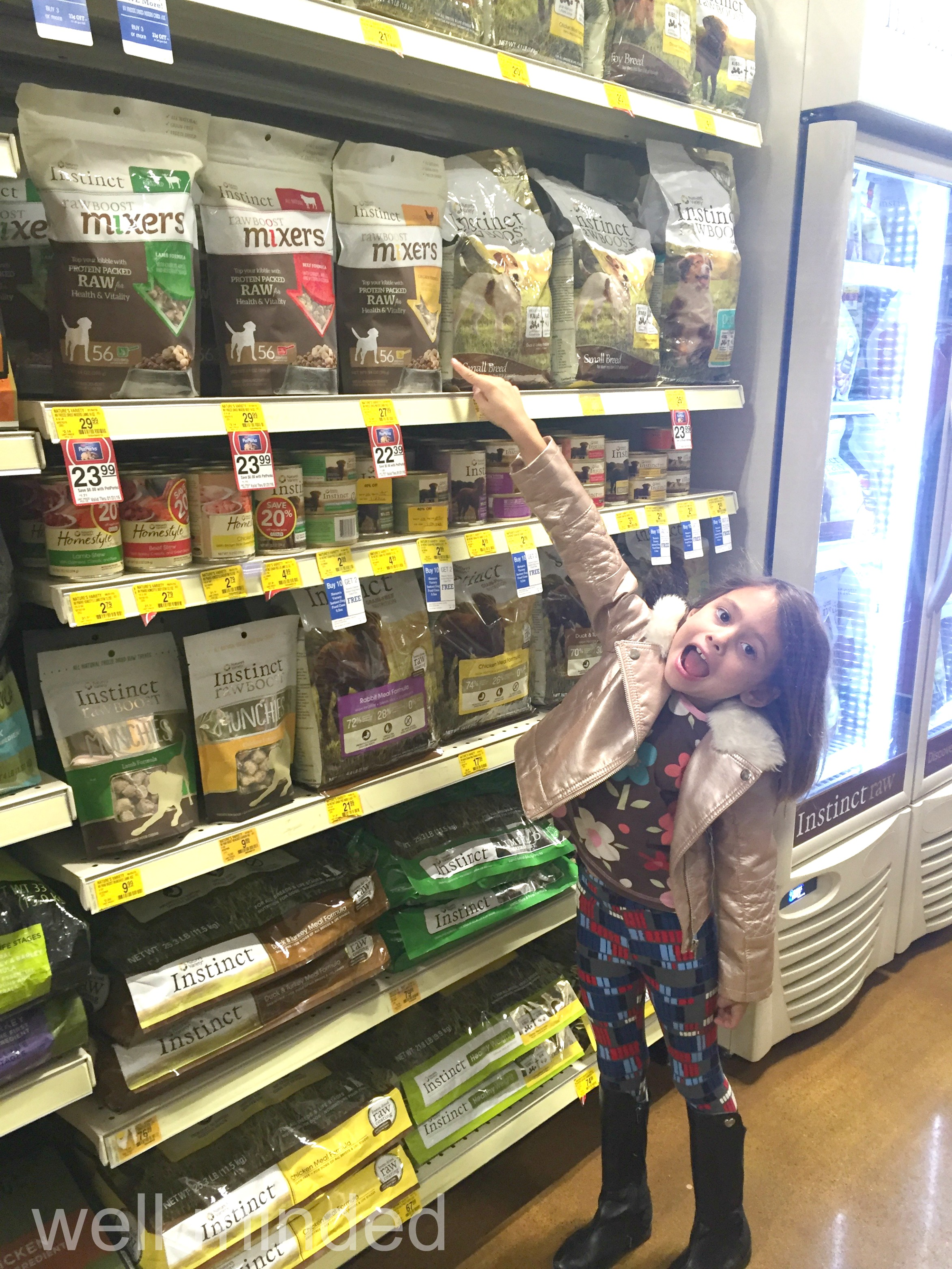 Some treasure-hunt...even a six-year-old could easily find Instinct Raw Boost Mixers at our local Petsmart.