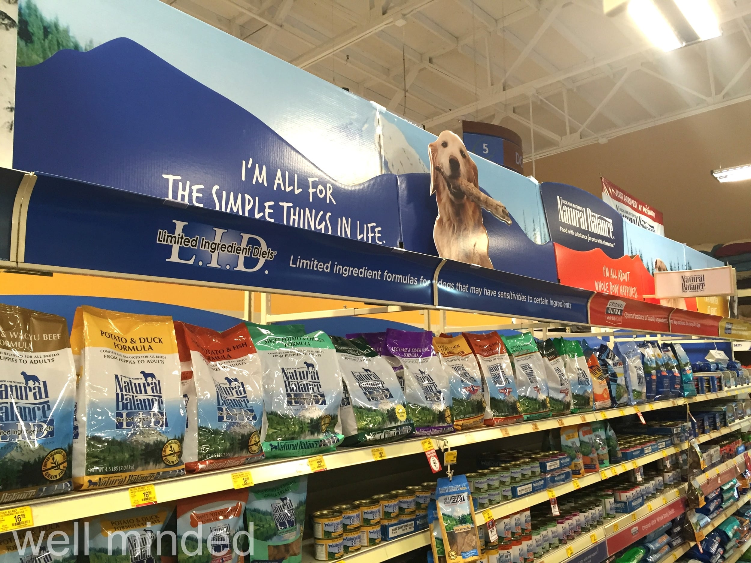 Find the Natural Balance Limited Ingredient Diets lineup at PetSmart.