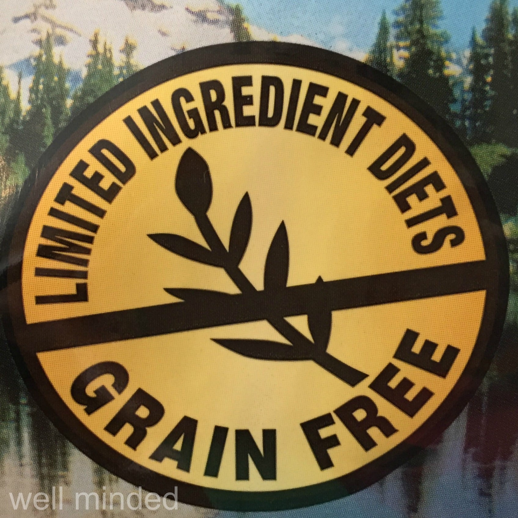 Natural Balance Limited Ingredient Diets offers grain-free options.